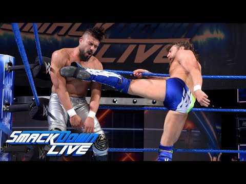"""Daniel Bryan and Andrade """"Cien"""" Almas clash for the first time ever: SmackDown LIVE, Aug. 28, 2018"""