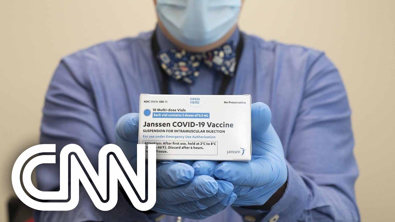 Ministério da Saúde confirma chegada de vacinas da Janssen após aval do FDA | CNN SÁBADO