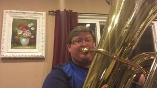 Happy Birthday- tuba multiphonics version