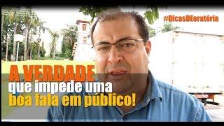 A verdade que impede uma boa fala em público   Franco Junior