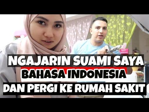 NGAJARIN SUAMI SAYA BAHASA INDONESIA   KE RUMAH SAKIT   VLOG BAHASA
