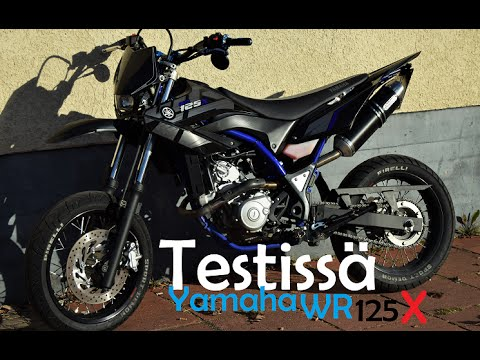 testiss yamaha wr 125 x youtube. Black Bedroom Furniture Sets. Home Design Ideas