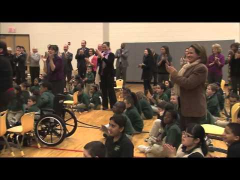 Top Hartford Teacher Tamika Knight Scores 2012-13 CT Milken Educator Award