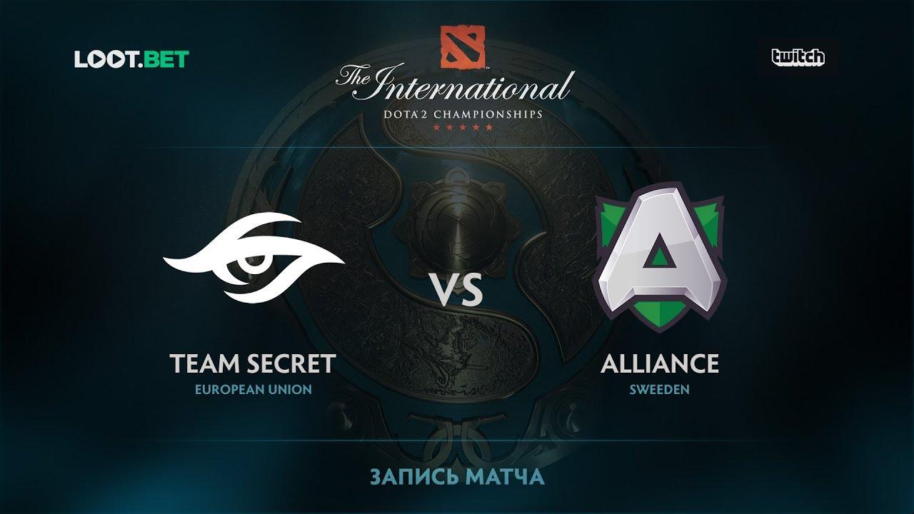 Team Secret vs Alliance, Part 1, The International 2017 EU Qualifier