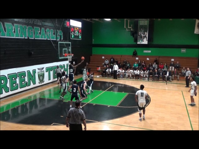 Game Highlights Boys' Varsity: Mekeel Christian vs Green Tech