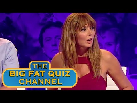Carol Vorderman Doesn't Know What Fingering Is - Big Fat Quiz Of The 80's