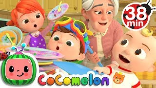Helping Song + More Nursery Rhymes \u0026 Kids Songs - CoCoMelon