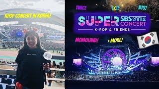 SEEING BTS, TWICE, + MORE LIVE! Super SBS Concert in Gwangju Vlog 2019 | Study Abroad Vlog #3