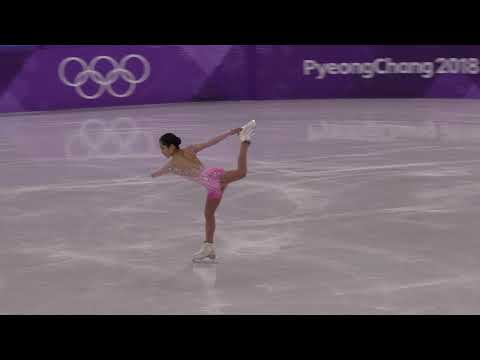 2018 Winter Olympics 4k video Figure Skating Short Satoko MIYAHARA(Japan)