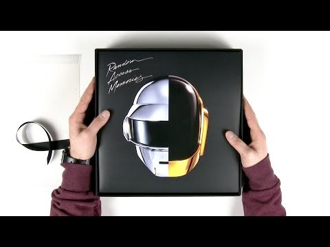 Daft Punk R.A.M. Deluxe Box Set Unboxing
