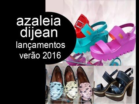 9ade86d1c Azaleia e Dijean: Lançamentos Verão/2016 - YouTube