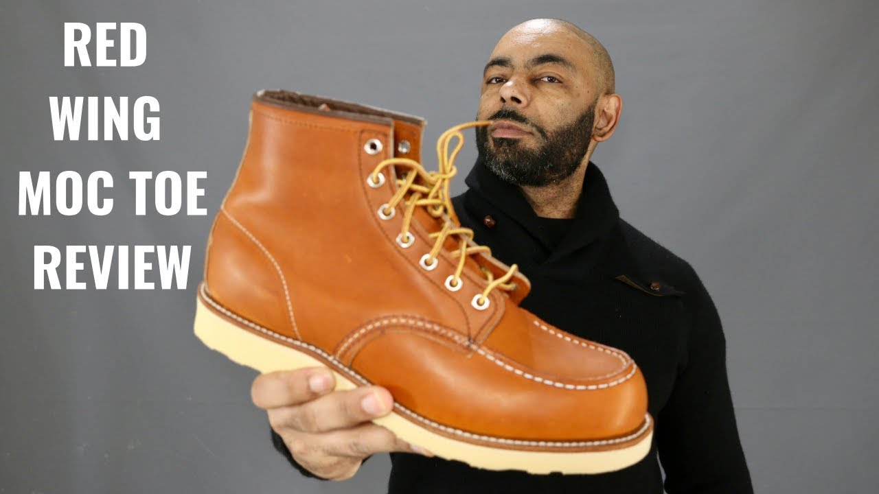 Red Wing 6 Inch Moc Toe Boot Unboxing