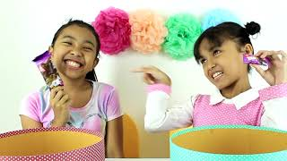 MINI VS BIG ICE CREAM CHALLENGE ♥ Pesta Es Krim Challenge