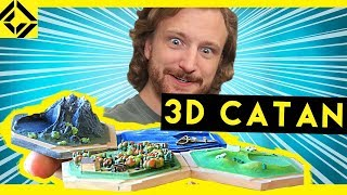 Niko's Homemade 3D Settlers of Catan Set!