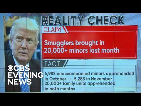 Reality check on Trump's border security claims