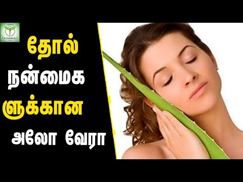 aloe-vera-for-skin-benefits---skin-care-tips-in-tamil-||-tamil-health-tips