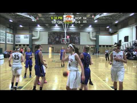 Hiller Girls Varsity Basketball vs. Dover-Sherborn