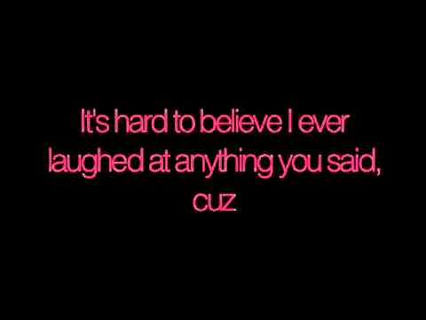 P!nk - Why did I ever like you? w/lyrics
