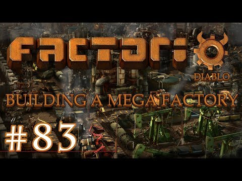 Factorio - Building a Mega Factory: Part 83 New copper mine and starting the mainbus for science