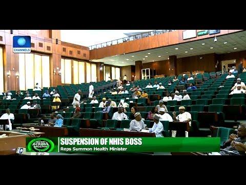 Reps Summon Health Misiter Over NHIS Boss Suspension