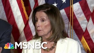 'Hell To Pay': Speaker Pelosi Threatens Trump Over Gun Control | The Beat With Ari Melber | MSNBC