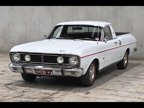 1968 Ford Falcon XT Ute GT Replica