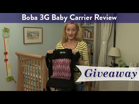 Boba 3g Baby Carrier Review Giveaway Cloudmom Youtube