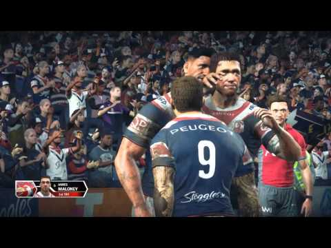Rugby League Live 3 | PC Full Gameplay | Roosters v Storm | Legend | Golden Point