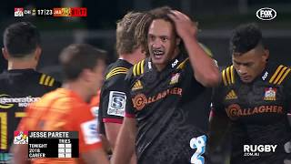 2018 Super Rugby Round 12: Chiefs vs Jaguares