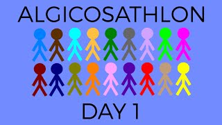 Algicosathlon Day 1
