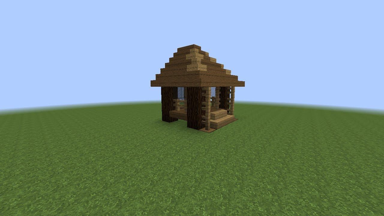 tuto comment faire une belle maison de b cheron dans. Black Bedroom Furniture Sets. Home Design Ideas