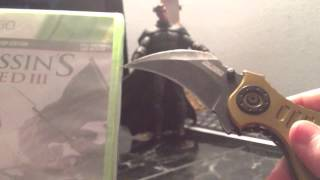 Assassin creed 3 unboxing