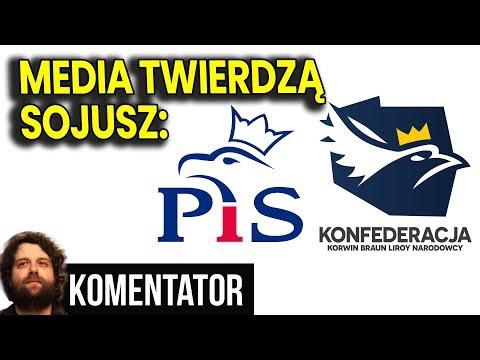Media Zapowiadają Koalicję Konfederacja - PIS po Wyborach 2019 do Sejmu i Senatu Analiza Komentator