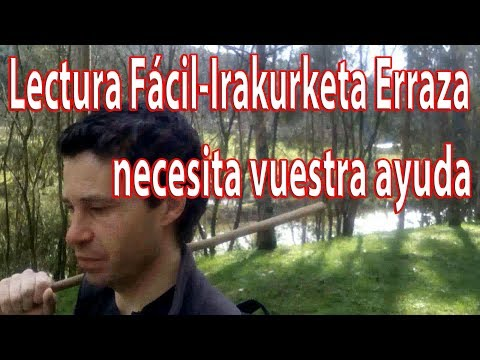 Lectura Fácil-Irakurketa Erraza necesita tu ayuda- Fernando Morillo Grande (Sorginetxe istorioak)