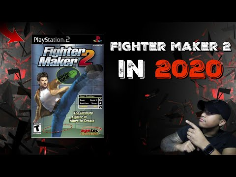 This Fighting Game Stole Animations LOL (Fighter Maker 2)