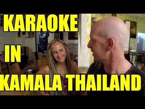 KARAOKE IN KAMALA THAILAND V192