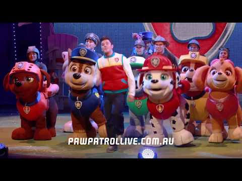 """PAW Patrol Live! """"Race To The Rescue"""" 