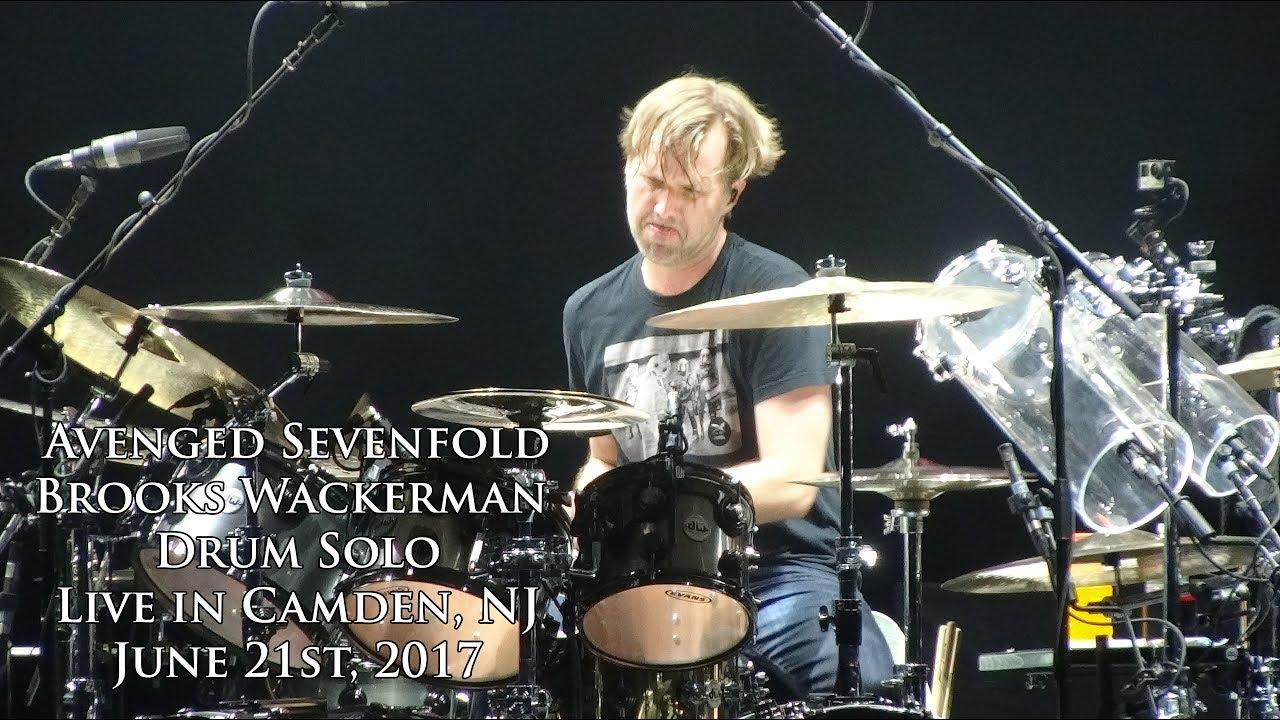 avenged sevenfold brooks wackerman drum solo live in camden nj 6 21 17 youtube. Black Bedroom Furniture Sets. Home Design Ideas
