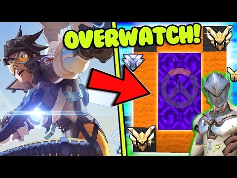 HOW TO MAKE A PORTAL TO THE OVERWATCH DIMENSION - MINECRAFT Overwatch