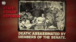10 Diktator Dunia yang Mati Mengenaskan