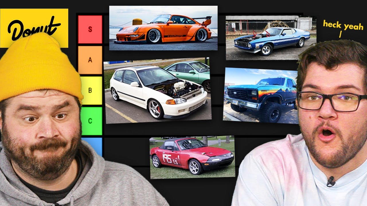 We Ranked Your Cars