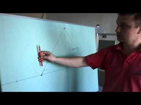 Как нарисовать овал на потолке для светильников