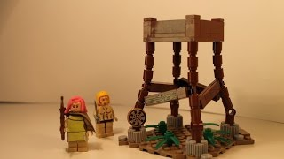 "LEGO Clash of Clans ""Archer Tower"" MOC Review"
