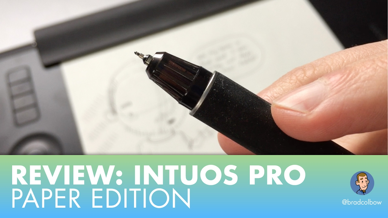 Review: Intuos Pro Medium Paper Edition
