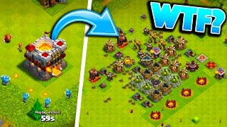 I FOUND THE WORST TOWN HALL 11 NOOB BASES IN CLASH OF CLANS!