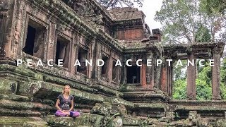 Beautiful Guided Meditation For Everyone ♥ Angkor Wat