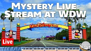 🔴Live: Walt Disney World Mystery Live Stream - 10-12-18 - ResortTV1