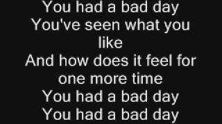 Daniel Powter-Bad Day Lyrics?