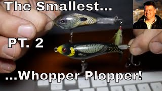 Smallest Whopper Plopper - Phase 2 - Home Made Topwater Lure