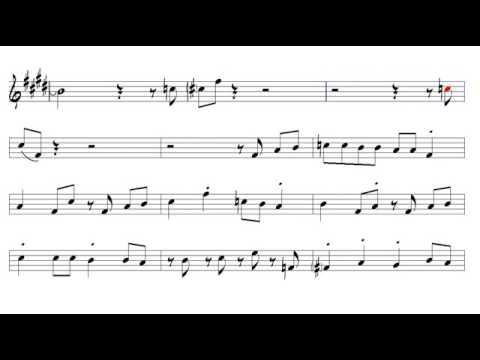 Sing, Sing, Sing Louis Prima 1936 Alto Sax 2